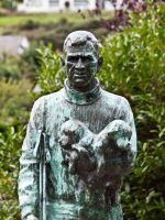 STATUE OF TOM CREAN by tibbet2000