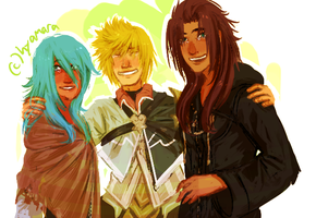 prayer circle for kh3 by hyamara