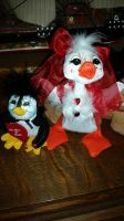 Annalee Valentines Ducky and Penguin by Vesperwolfy87