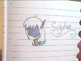 Sylphie for oxZeldafanxo by PinkDragon159