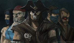 Mortal Kombat Pirates by pati88