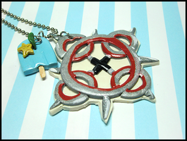 Akuroku Necklace by GrandmaThunderpants