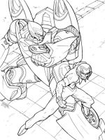 Speed Racer and the Mech 5 by REX-203