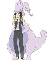 Goodra loves to hug ^^ by FahmyCr3w
