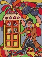 Doctor Who Yellow Submarine Painting by Gallery44