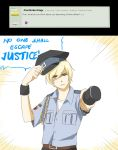 Q40 - Finn the Policeman by Ask-Awesome-Finn
