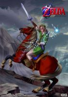 Link version Ocarine of time by GGG85