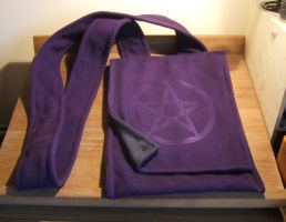 Purple Pentacle Bag - FOR SALE by Thaly