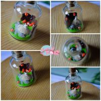 Totoro in the bottle by KawaiiRoxX