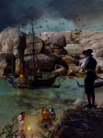 Pirate cove by gregnan