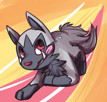 run poochyena run by Frosti-Kat