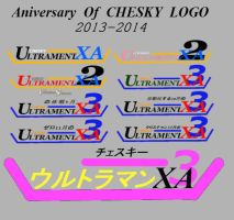 Happy Aniversary of CHESKY LOGO's 2013-2014 by aizaabella24