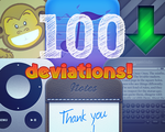 100 deviations!!! by luisperu9