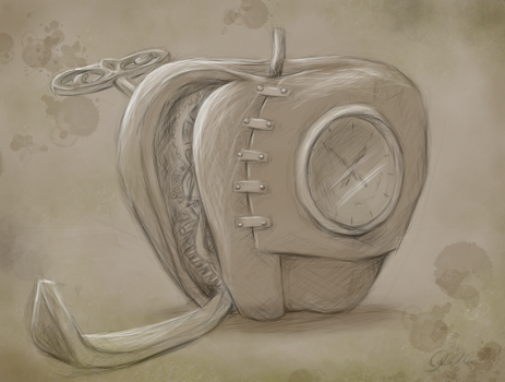 Mechanical Apple by Clanaad