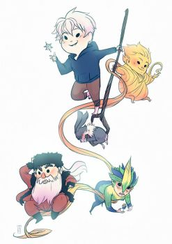 Rise of the Guardians by Oune