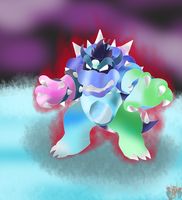 Dreamy Bowser *SPOILER ALERT!!* by ColorDrake