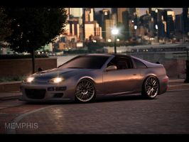 Nissan 300ZX by memphisdesign