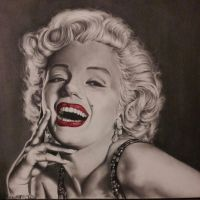 Marilyn Monroe by rjamesvisuals