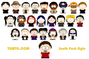 TGWTG South Park Style V.1 by mikeinthehouse