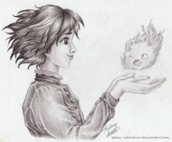 Howl's M.C. Heart in My Hands by kimberly-castello