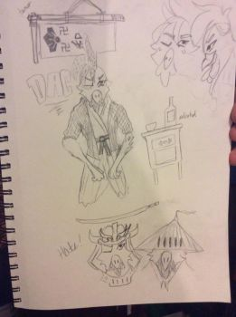 DAC Challenge - Create a feudal samurai character by ChampionKnifeFighter