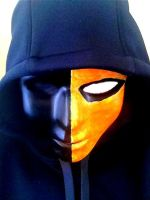 Deathstroke Henchman Mask by QuietKidCreations