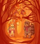 Forest Family by shinigami714