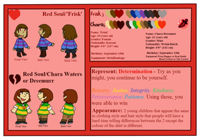 [Undertale] Red Soul ref sheet by poi-rozen
