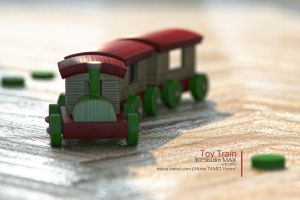 Toy Train by themt