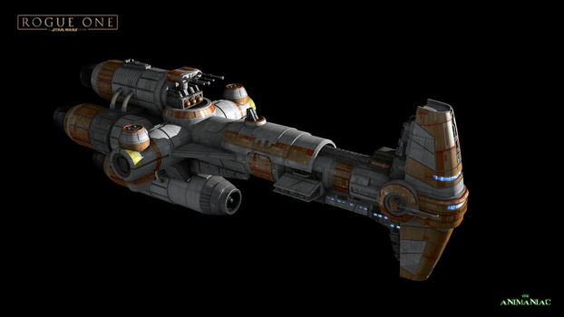 Rebel Hammerhead Frigatte by Animaniacarts