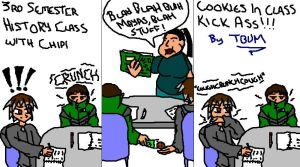 Cookies in class by Thunderbum