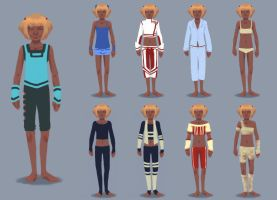 character clothing design by rimorob