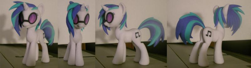 Vinyl Scratch Full Color 3d Print by Hashbro