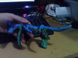 Sea Dragon Sculpture by rosedragoness