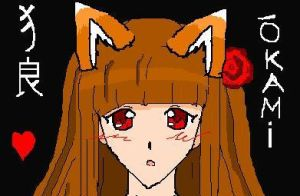 Anime head practice on MS paint by NekoHime07