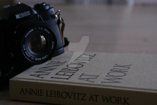 Annie Leibovitz by AslynPhotography