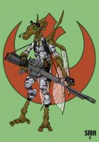 Geonosian Rebel by MunkenDronkey