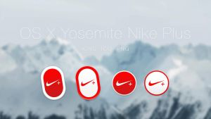Nike Plus Icon for OS X Yosemite by JasonZigrino