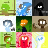 characterssss by CatnipPacket