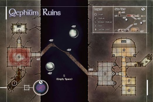 Quephilim Ruins by butterfrog