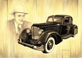 Al Capone's car by stefan69