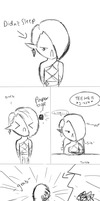 PaperBallz:Ghirahim and Link comic by JelloPixel