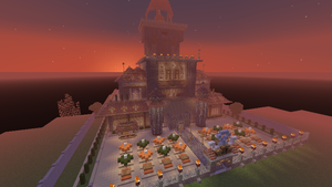 Minecraft: Fairy Tail guild by SoMaluver