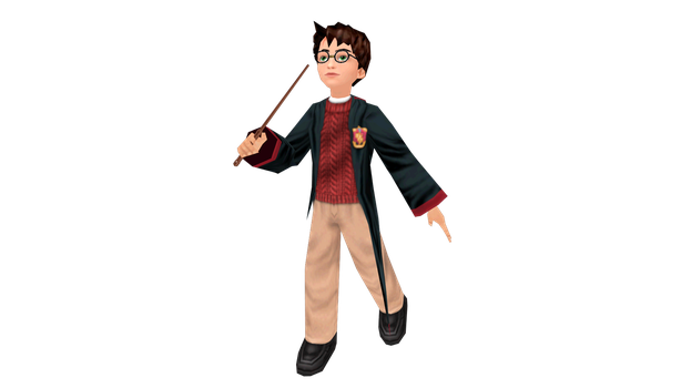 MMD Harry Potter DL! by GlindaIvyTheWitch