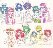 Lowbloods and Highbloods by Aymeysa