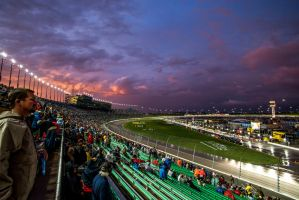 Sunset Speedway by in-my-viewfinder