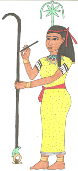 Seshat by kaleidescopiclee