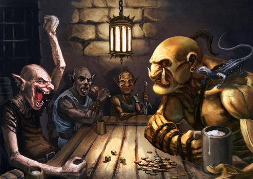 Dungeon Game by Odinoir