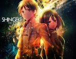 Shingeki No Kyojin Wallpaper by Redeye27