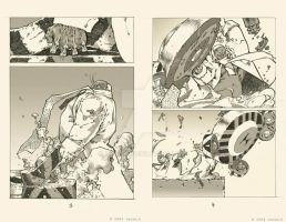 my comic pages 3-4 by TeuvoH